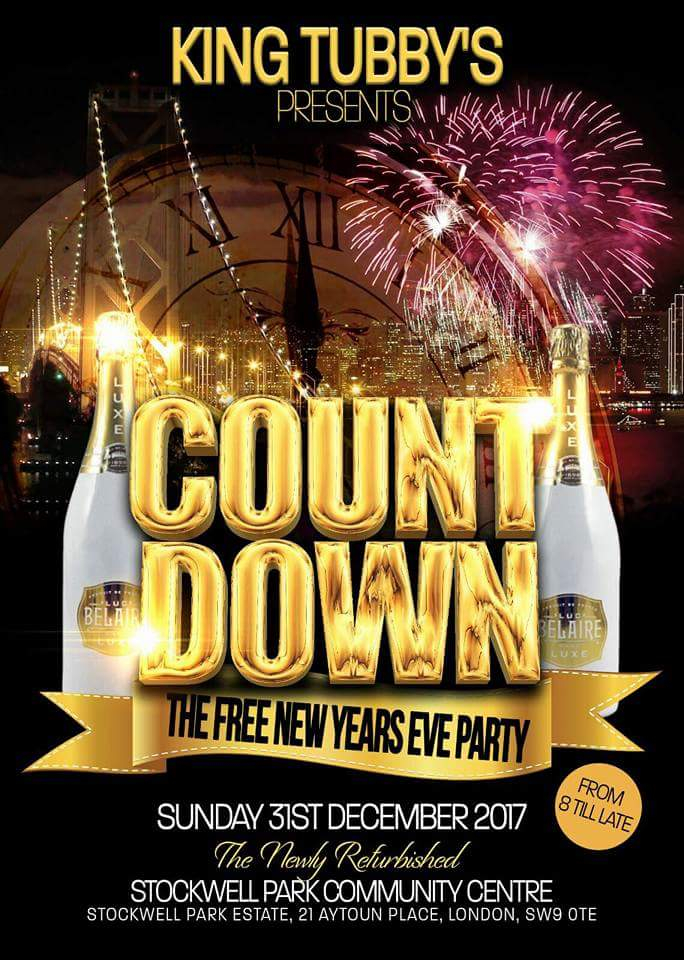 king tubby s count down new years eve party uk black central listing