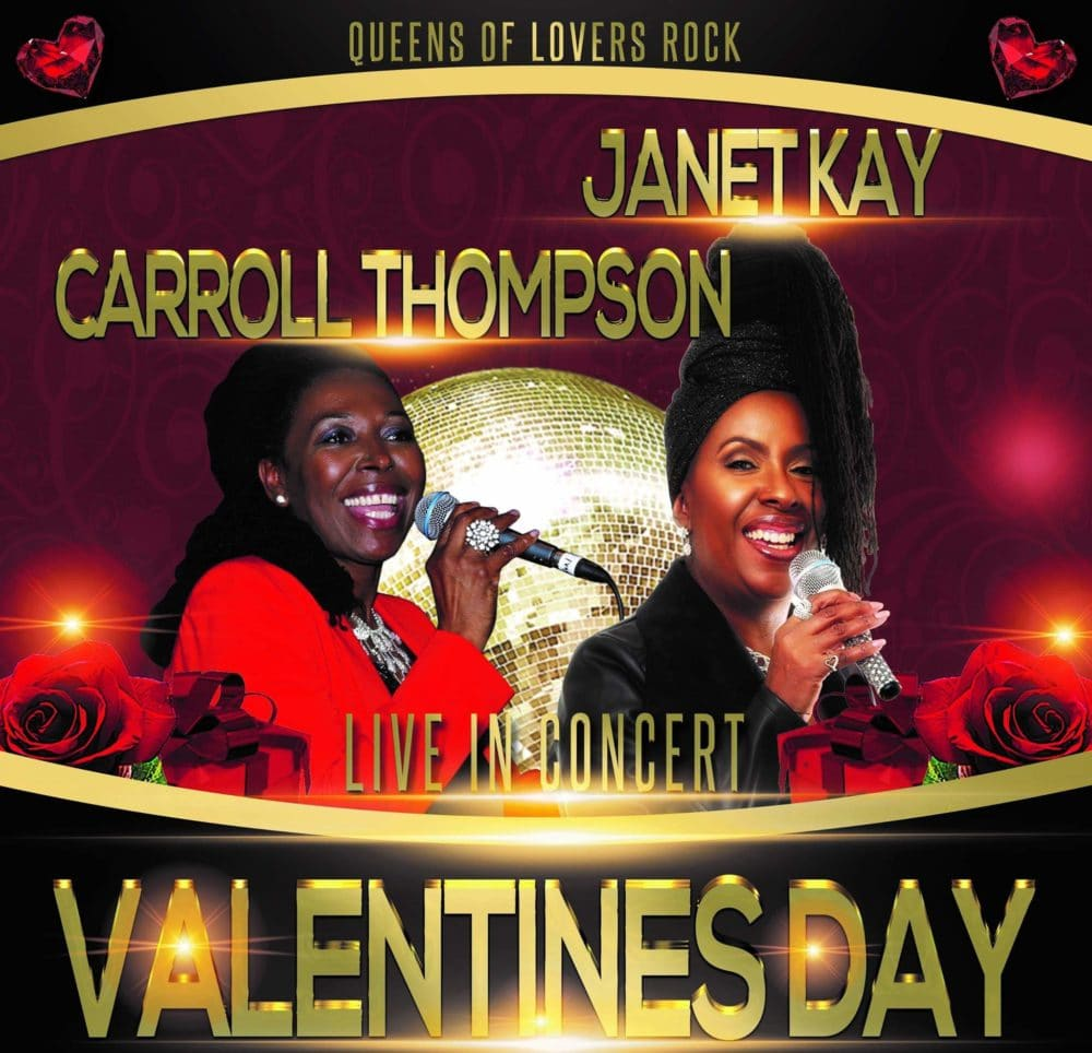 Queens Of Lovers Rock Janet Kay Carroll Thompson 2019 Valentines Day For An Evening